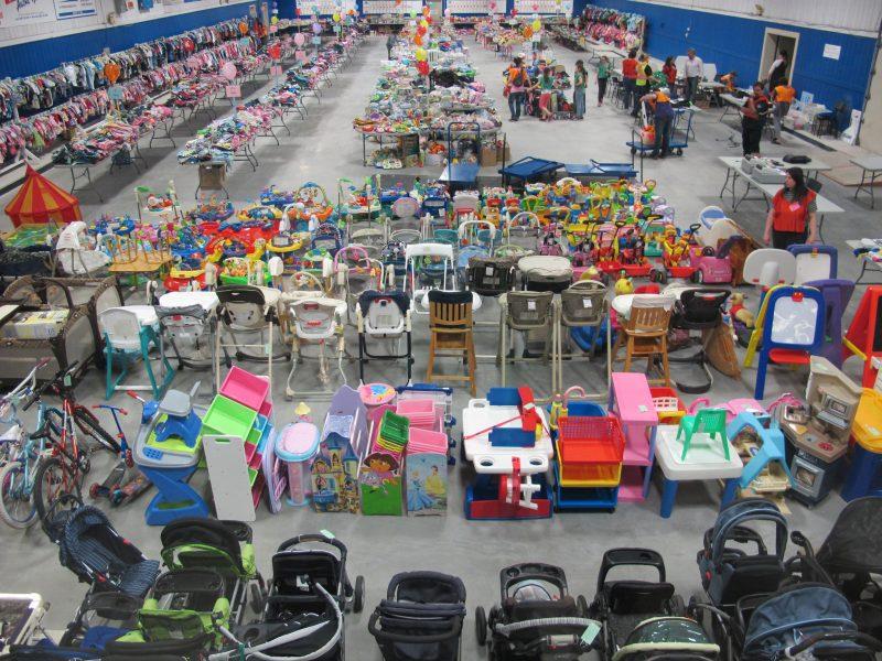Le plus gros marché aux puces de la région se déroulera le 9 septembre prochain. | Carrefour naissance-famille