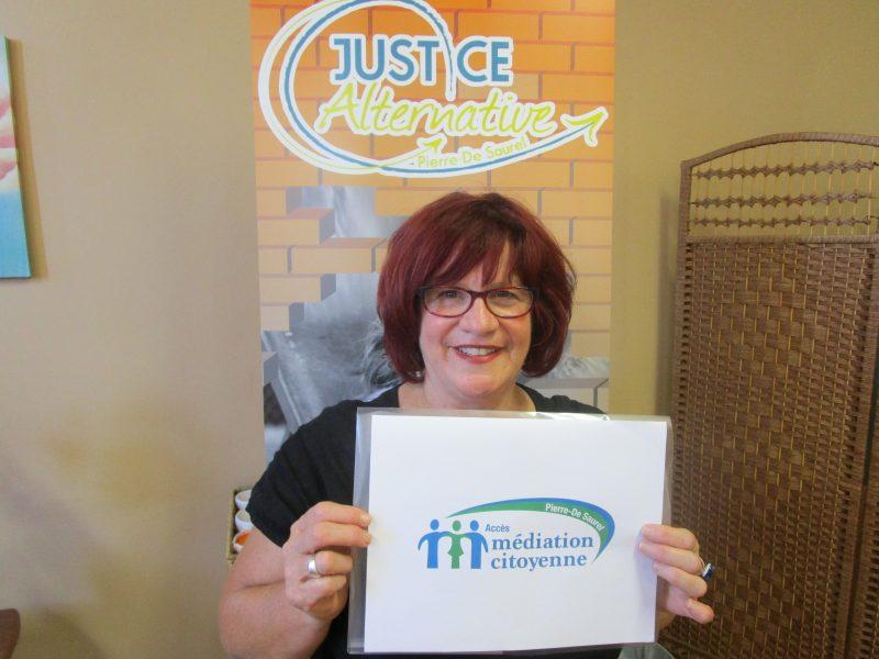 Nicole Teasdale est la directrice générale de Justice Alternative Pierre-De Saurel. | Gracieuseté - Justice Alternative Pierre-De Saurel
