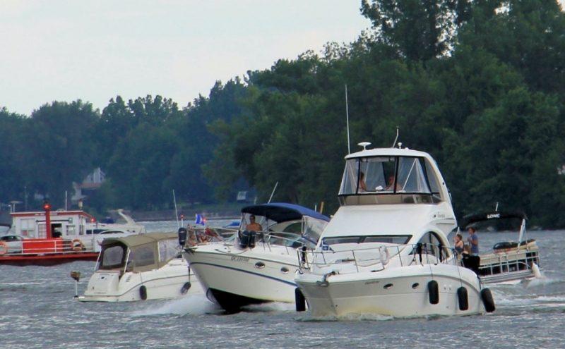 La situation des vagues sur la rivière Richelieu inquiète L'Association des riverains du Richelieu. | Photo: Gracieuseté