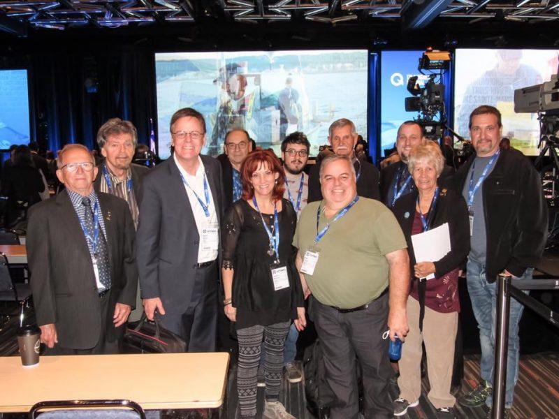 Les principaux délégués de Richelieu ont assisté au congrès du PQ la fin de semaine dernière. | Gracieuseté