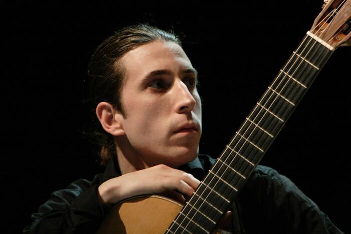 Le guitariste passionné, Alexandre Éthier. | TC Média - Gracieuseté