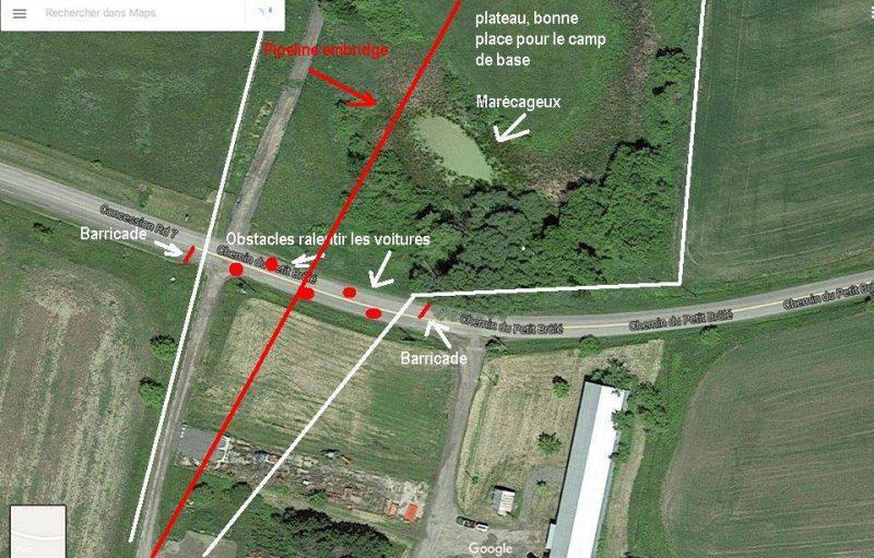 Le plan de l'Opération Juno Beach obtenu par le Journal. | (Photo: Gracieuseté)