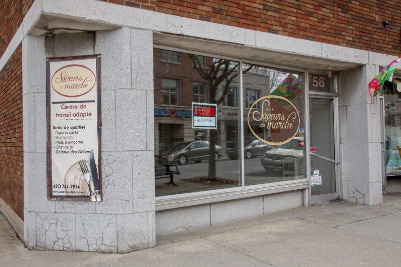 Le resto avait pignon sur rue au 58 rue Augusta, au centre-ville de Sorel-Tracy. | Photo TC Média - Pascal Cournoyer