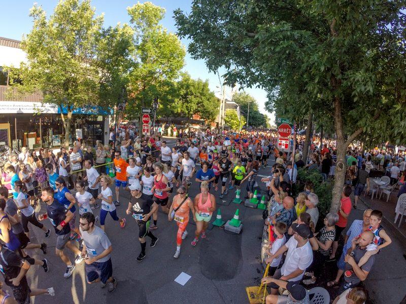 La course du 5 km du Festival de la gibelotte attire plus de 1600 coureurs au mois de juillet. | TC Média - Pascal Cournoyer