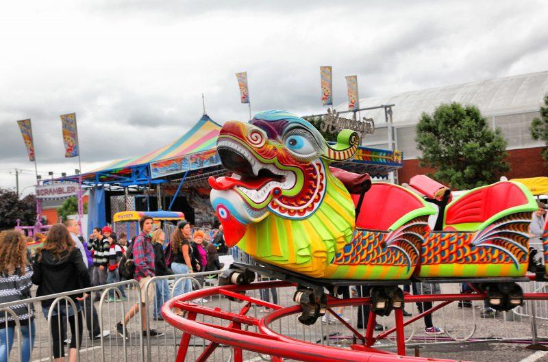 Les visiteurs ont été nombreux à braver le mauvais temps et à profiter des activités prévues lors de l'Expo agricole de Sorel-Tracy du 8 au 12 juin dernier. | TC Média - Pascal Cournoyer