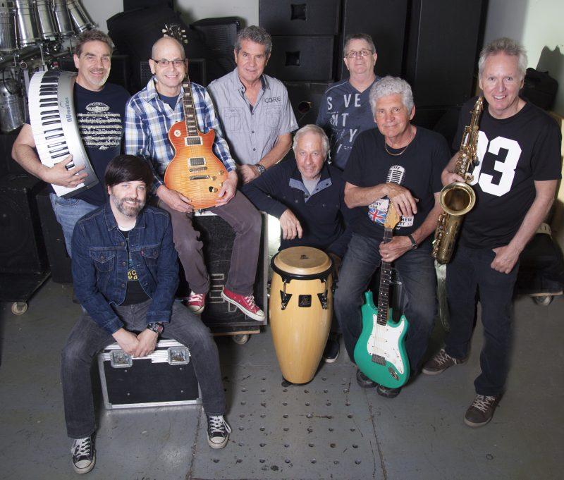 Le groupe Berth Rock & Blues rallie huit Sorelois.   Maurice Parent parmo.ca