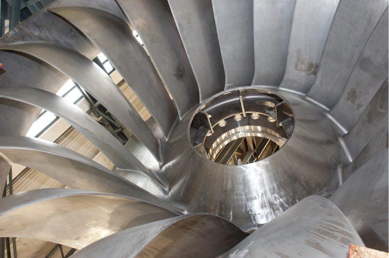 Alstom a notamment fabriqué de multiples turbines Francis. | TC Média - Archives
