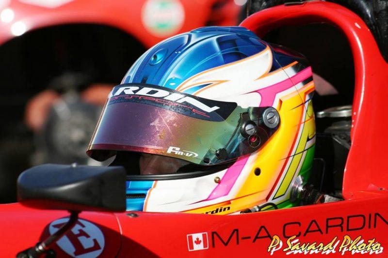 Le Sorelois Marc-Antoine Cardin n'a participé qu'à une seule course en Formule 1600 cette année. | P. Savard photo