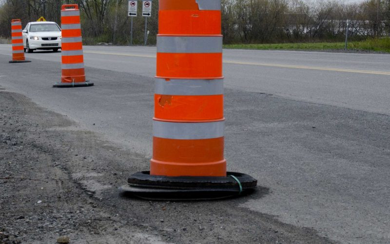 Les automobilistes devront s'accommoder d'une circulation réduite dans le secteur Tracy le 7 novembre entre 9h30 et 15h30 en raison d'une entrave sur le boulevard Tracy. | TC Média - Archives