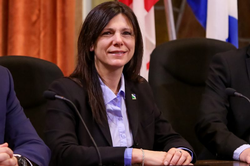 Sylvie Labelle, conseillère du district Richelieu | Photos par Pascal Cournoyer