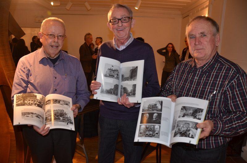 Les auteurs Jean-Claude St-Arneault, Denis Duhamel et André Côté ont présenté leur livre Sorel d'antan au public le 13 décembre. | TC Média - Sarah-Eve Charland