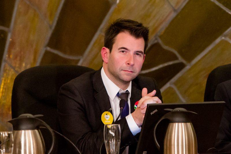 Le conseiller municipal Patrick Péloquin | TC Média - Archives