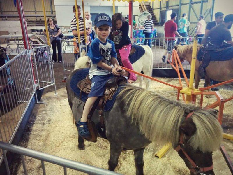 L'expo agricole a aussi fait la joie des enfants!   TC Média - Gracieuseté