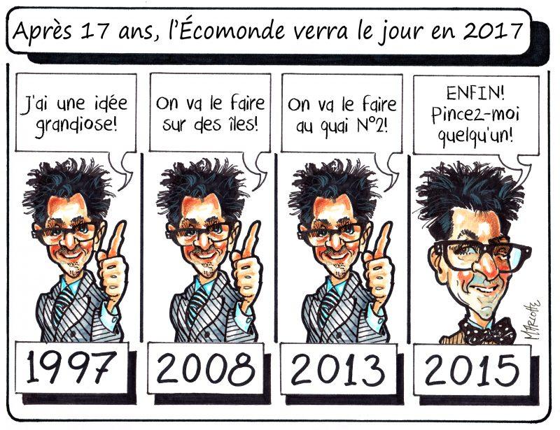 Caricature de Gilles Bill Marcotte - 14 juillet 2015. | Gilles Bill Marcotte