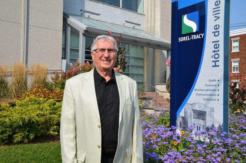 Réjean Dauplaise a occupé le poste de conseiller pendant 17 ans avant  de prendre le siège du maire de Sorel-Tracy. | Tc Média - Sarah-Eve Charland