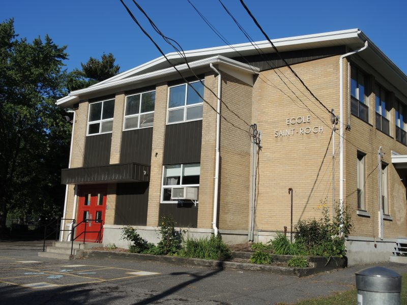Le projet consiste en l'ajout de quatre classes,  d'une bibliothèque et d'un gymnase.   TC Média - Archives