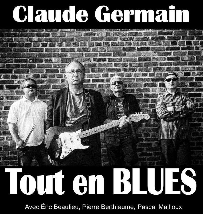 Claude Germain tout en blues montera sur la scène du Marine Cabaret dès 20h ce soir. | Tirée de Facebook
