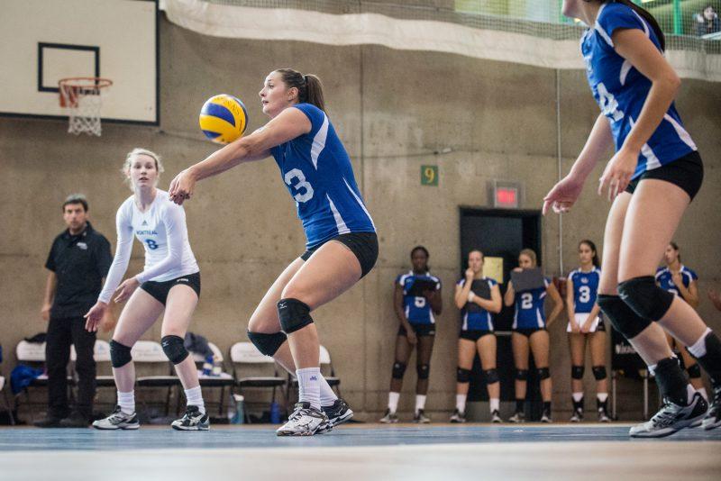 Marie-Sophie Nadeau, qui a évolué pendant cinq ans avec les Carabins de l'Université de Montréal, suivra un entraînement intensif à Winnipeg.   WWW.JHPHOTOSPORTIVE.COM