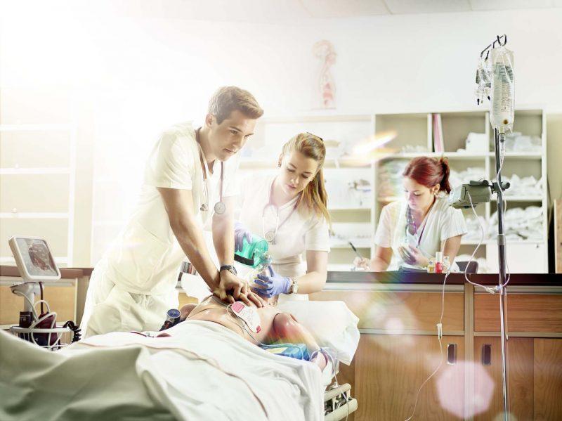 Les futures infirmières du Cégep de Sorel-Tracy obtiennent des résultats supérieurs à la moyenne provinciale. | Photo: Gracieuseté