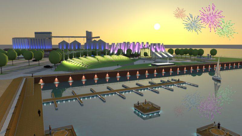 Les promoteurs de l'Écomonde pourront commencer les travaux sur le quai no 2 après le cautionnement de la Ville de sa marge de crédit. | Photo : Gracieuseté