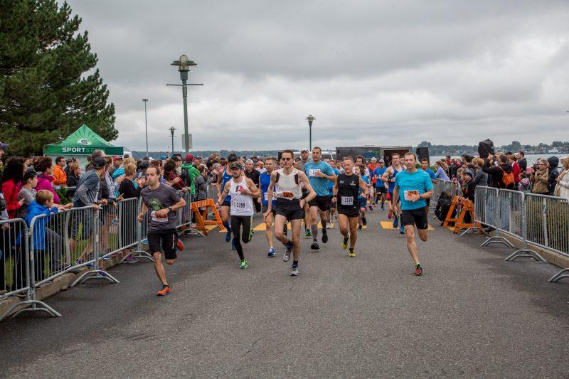 Environ 800 participants ont foulé les rues de Sorel-Tracy et Sainte-Anne-de-Sorel le 13 septembre dernier. | TC Média – Pascal Cournoyer