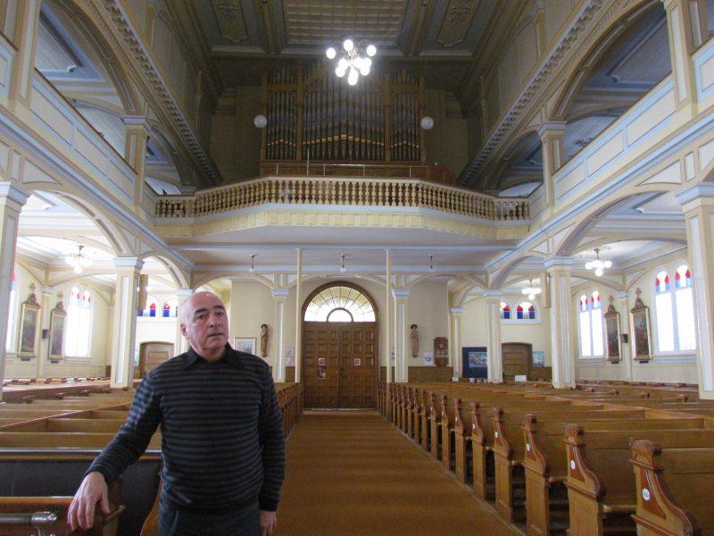 Le dossier de l'église Saint-Thomas a marqué les deux premiers mandats du maire André Descôteaux   TC Média - Sébastien Lacroix