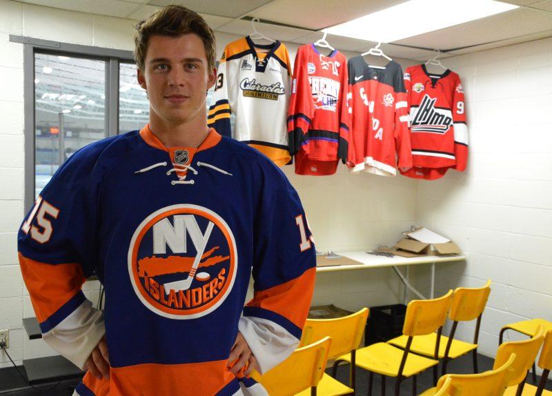 Anthony Beauvillier a été sélectionné en première ronde par les Islanders de New York en 2015. | Photo TC Media – Samuel Duranceau-Cloutier