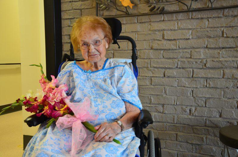 Ézéla Fournier-Pépin fêtera son 105e anniversaire le 21 août 2016. | TC Média - Sarah-Eve Charland