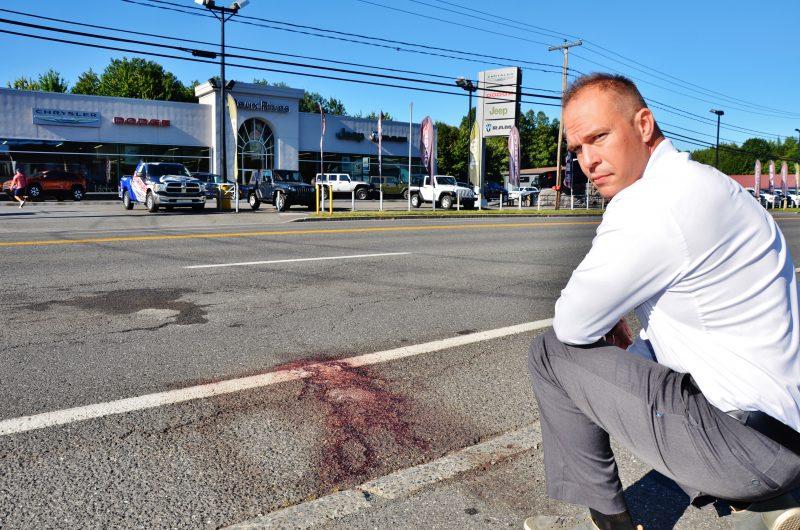 Le premier répondant François Venne espère pouvoir rencontrer le motocycliste gravement blessé qu'il a aidé après son accident avec une remorque le 13 septembre dernier. | Photo: TC Média – Julie Lambert
