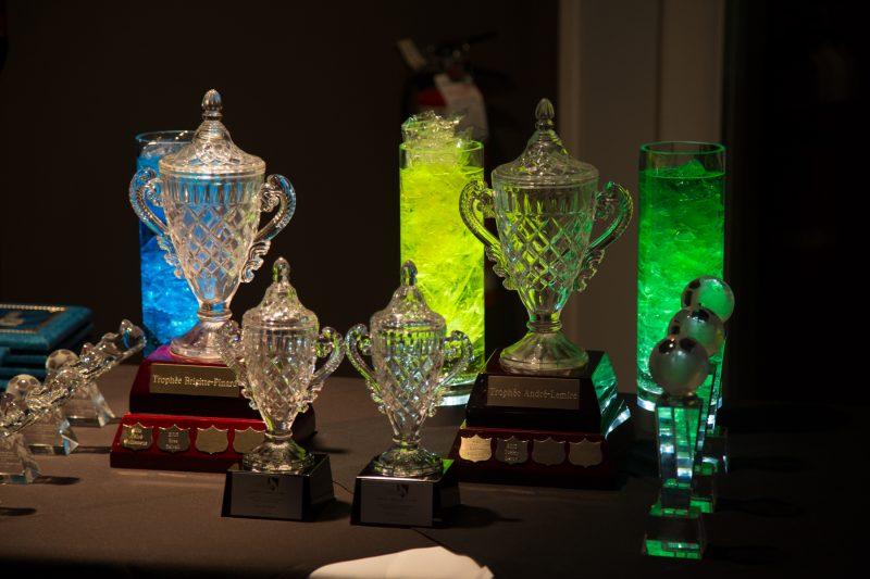 Plusieurs trophées ont été remis au cours de la soirée. | Photo: TC Média - Pascal Cournoyer