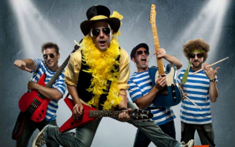 Clément Goulet, Jimmy-Raymond Lacroix, Serge Capistran et Pascal Lepage composent le Tonton Ninou Rock Band.  |  © Photo: Gracieuseté