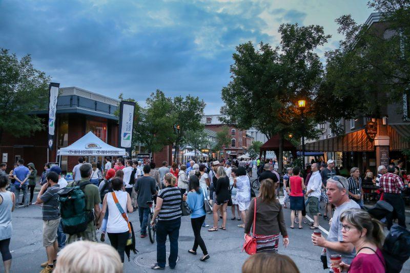 La Chambre de commerce se dissocie désormais de la fête qui aura lieu au centre-ville cet été, du 6 au 9 juillet. | Photo: TC Média - Pascal Cournoyer