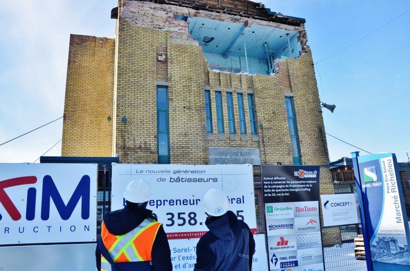 Des surprises de défaillance dans la structure obligent la Ville à réinvestir. | TC média - Archives/Julie Lambert
