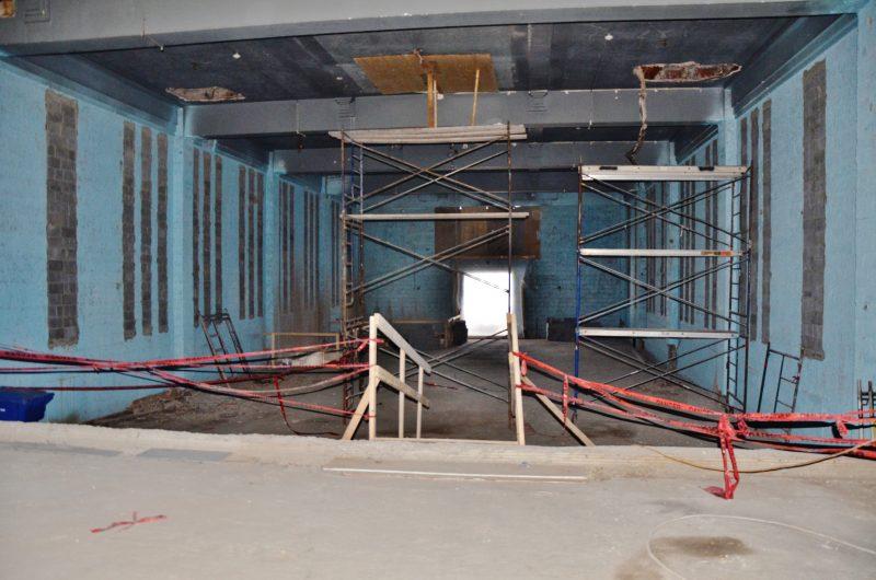 La salle de spectacle de style cabaret aura des places au plancher et au balcon. | TC Média - Julie Lambert