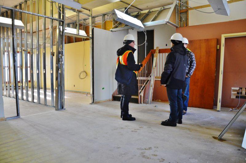 La mezzanine comptera deux loges et un salon | TC Média - Julie Lambert