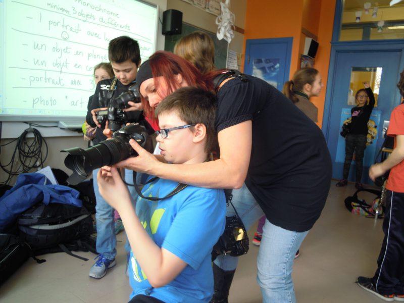 Nathalie Bergeron donnera des ateliers de photographie. | Gracieuseté