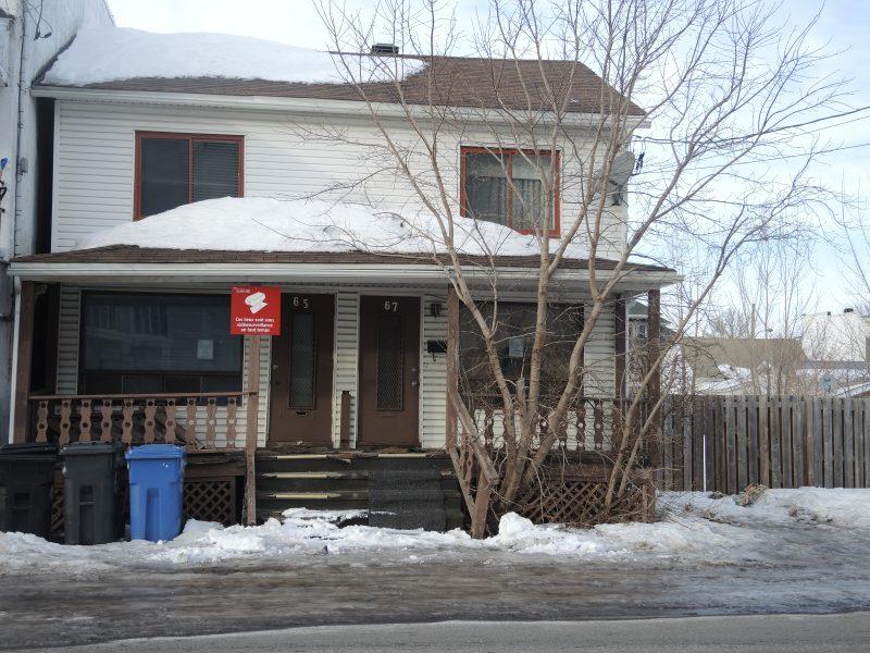 Le bâtiment situé de la rue Limoges avait été saisi par le Procureur général du Québec en 2015. | TC Média - Sarah-Eve Charland
