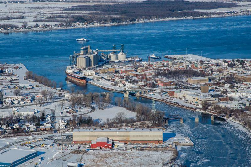 Deux zones industrialo-protuaires seront implantées à Sorel-Tracy et Contrecoeur. | Photo: Tc Média - Pascal Cournoyer