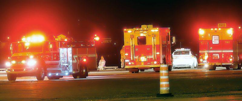 Un incident s'est produit sur le traversier tard le 16 avril. | Michel Sévigny