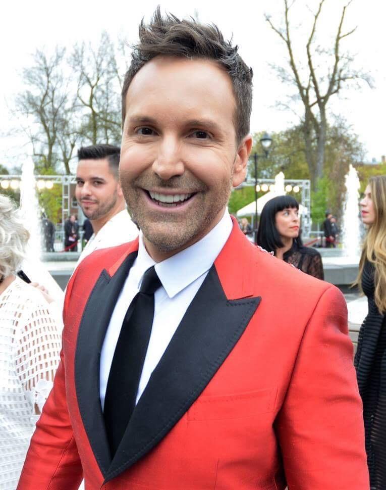 Éric Salvail, sur le tapis rouge du Gala Artis, le 14 mai dernier | Photo: Gracieuseté - MPV