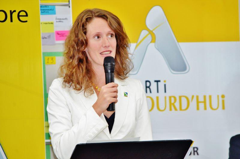 L'ancienne chef du Parti d'Aujourd'hui, Corina Bastiani. | Photo : TC Média - Archives