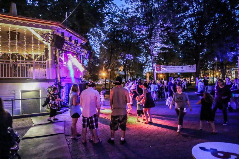Plusieurs activités ont été organisées au centre-ville durant le Festival de la gibelotte. | TC Média - Pascal Cournoyer