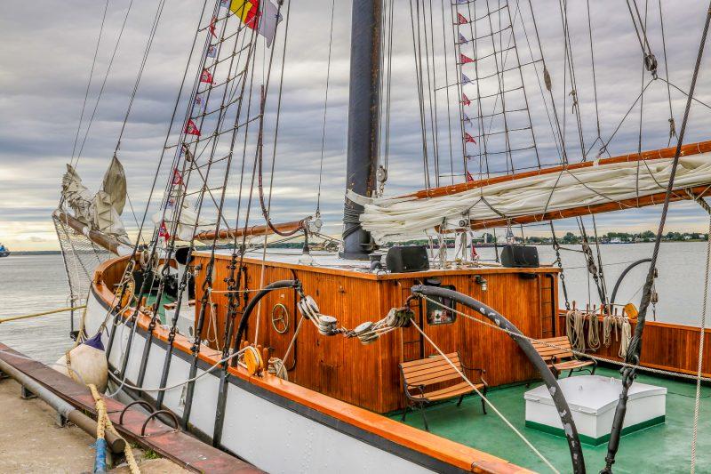 Cinq grands voiliers étaient de passage à Sorel-Tracy du 14 au 16 juillet au grand plaisir des spectateurs. | Pascal Cournoyer