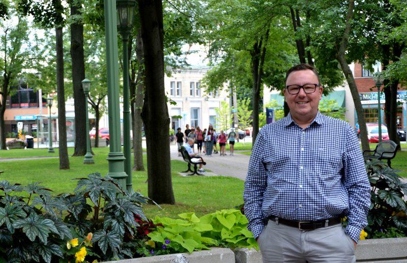 Le citoyen Gary Carpentier souhaite unir le milieu autour de projets communs. | Photo: TC Media – Julie Lambert