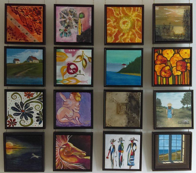 Une trentaine d'artistes mettront leurs toiles aux enchères pour amasser des fonds le 27 août | Photo: Gracieuseté