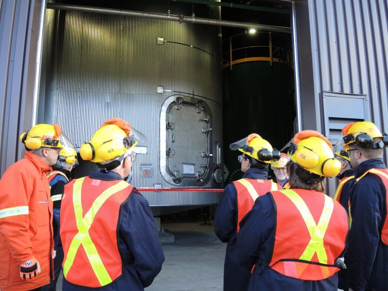 L'usine de récupération a été inaugurée en octobre 2014. | TC Média - Archives
