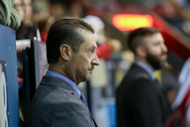 L'entraîneur-chef des Éperviers, Serge Forcier, n'a pas mâché ses mots même après deux victoires des siens lors du dernier week-end. | TC Média - Pascal Cournoyer