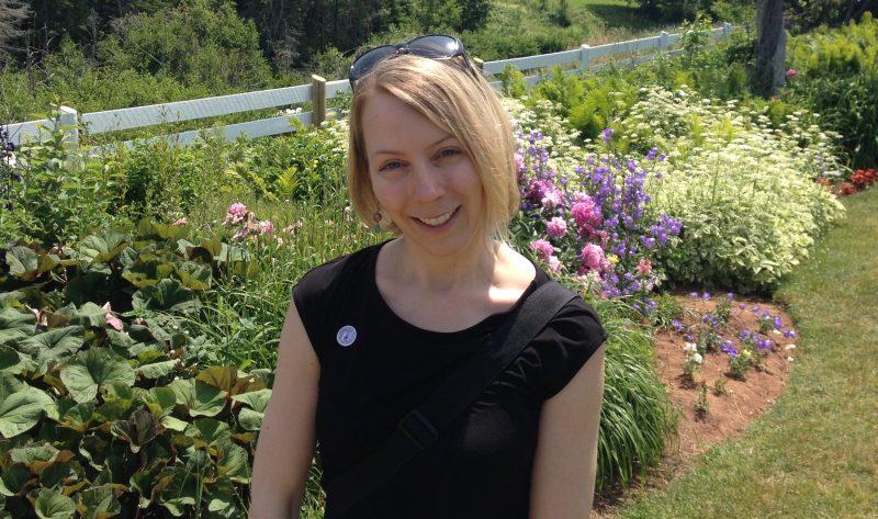L'écrivaine originaire de Sorel-Tracy Julie Beauregard-Mayer vient tout juste de lancer un premier roman. | Photo: Gracieuseté