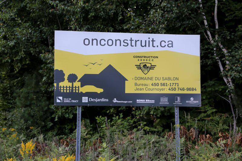 La campagne onconstruit.ca restera malgré le retrait de la Ville de Sorel-Tracy comme partenaire. | Phhoto: TC Média - Pascal Cournoyer