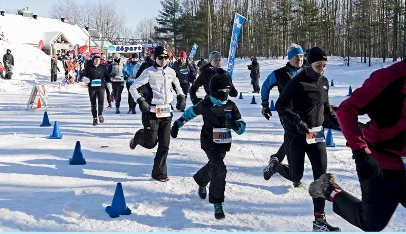 La course à pied est le premier volet du Triathlon des Neiges Sorel-Tracy. | gracieuseté – Suzanne Lachance